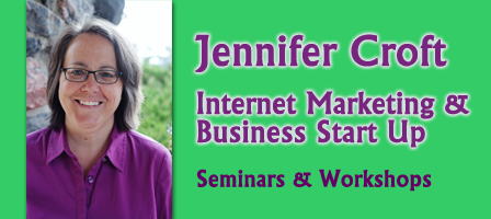 Internet Marketing & Business Start Up with Jennifer Croft