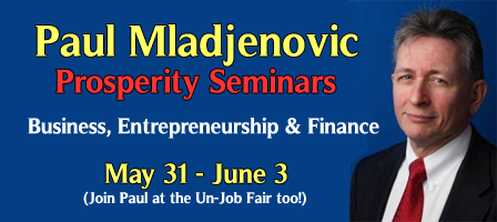 Entrepreneur Development--with Paul Mladjenovic