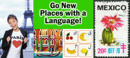 Go New Places with Language Classes!