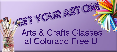 Art for Everyone:  Art Classes at CFU