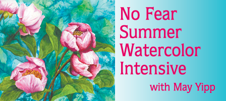 Summer Watercolor Intensive: May Yipp Returns!