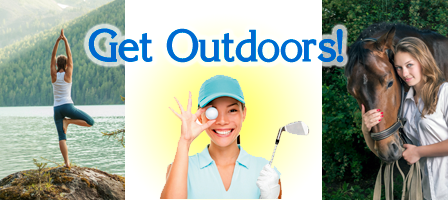 Get Outdoors! Recreation and Other Outdoor Classes