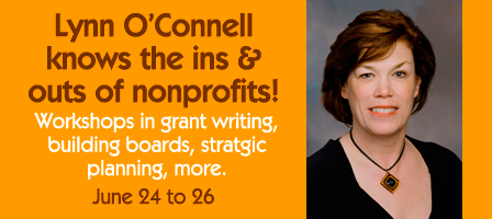 Get Your Grant Writing & Other Nonprofit Skills Up to Date This Summer with Lynn O'Connell