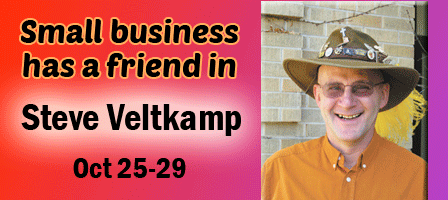 Small Businesses Find Their Friend in Steve Veltkamp