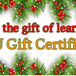 CFU Gift Certificates: Just in time for the holidays!