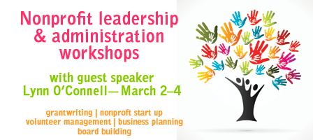 Nonprofit administration workshops: Lynn O'Connell