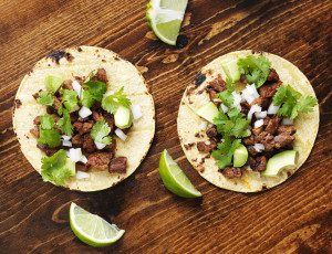 Learn to make your own delicious tacos (meat, tortillas and salsas) with Philip Feder. So good!!!