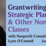 Grant Writing, Strategic Planning & More Nonprofit Classes with Lynn O'Connell