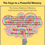The Keys to a Powerful Memory: Speed Learning & Memory Improvement