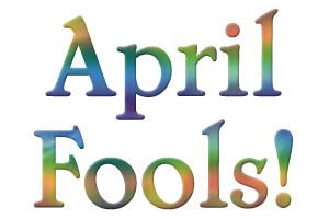 April Fools colorful