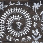 Indian Folk Art--Warli Painting